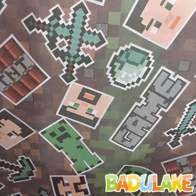 TNT Estampado Minecraft - 1 metro