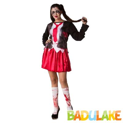 Fantasia Adulto Colegial Halloween