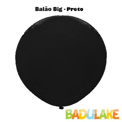 Balão Big FestBall Preto