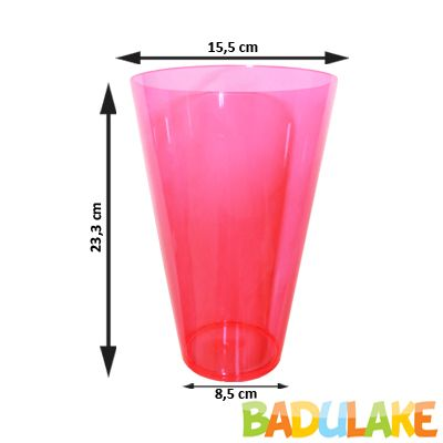 Copo Monster 2L Rosa Neon