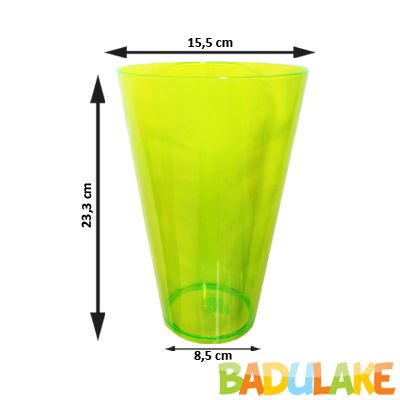 Copo Monster 2L Verde Neon
