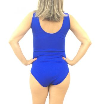 Collant para Fantasia Adulto Azul Royal