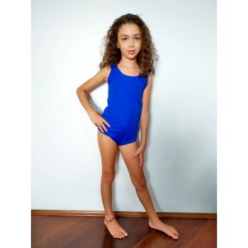 Collant para Fantasia Infantil Azul Royal