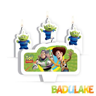Kit Velas Toy Story - 4 unidades