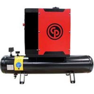 Compressor de ar a parafuso CPM 4 T - 5,5cv 8/10 Bar - Chicago Pneumatic