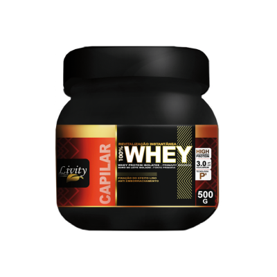 Whey Protein Capilar repositor de massa Livity 500g – ph3,0/4,0