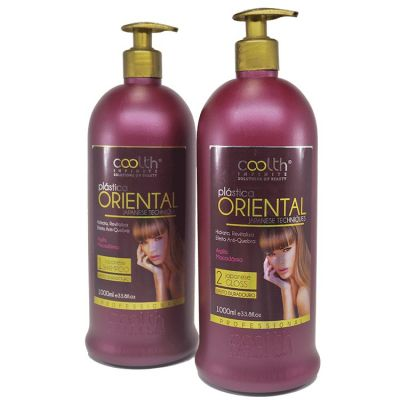 Escova Progressiva Plastica Oriental Coolth