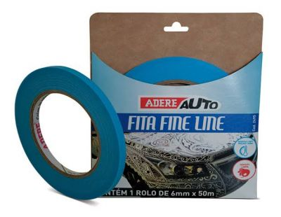 Fita Filete - FineLine Automotiva Azul - 6mm x 50m  - foto 3