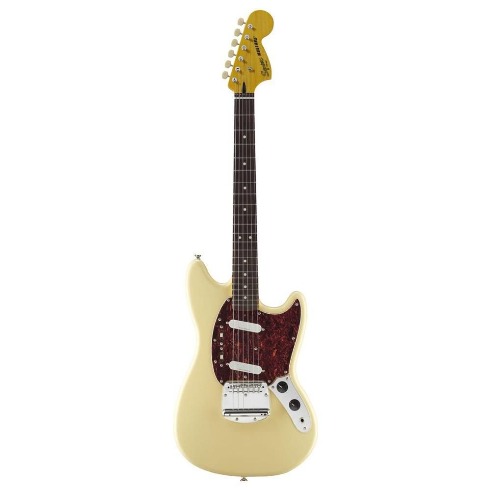 Guitarra Fender 030 2200 - Squier Vintage Modified Mustang - 541 Vintage White