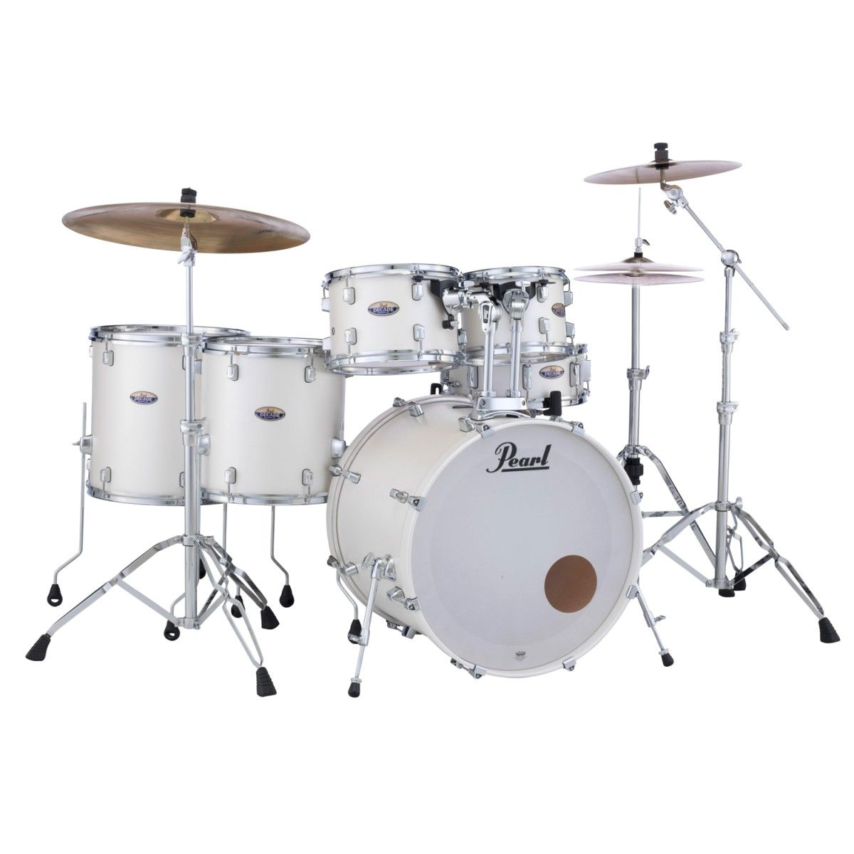Bateria Pearl DMP925SP Maple Decade + DMP814PC White Satin
