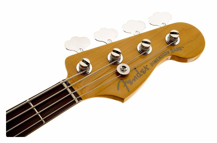 Contra Baixo Fender 024 2500 Modern Player Dimension Bass -509 Candy Apple Red  - foto principal 1