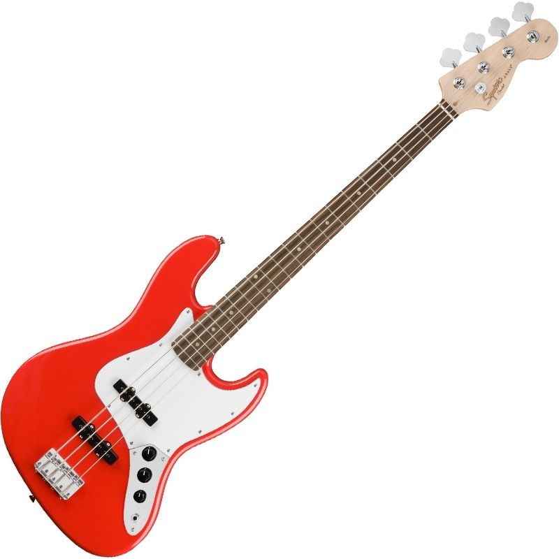 Contra Baixo Fender 031 0760 Squier Affinity J Bass 570 Racing Red