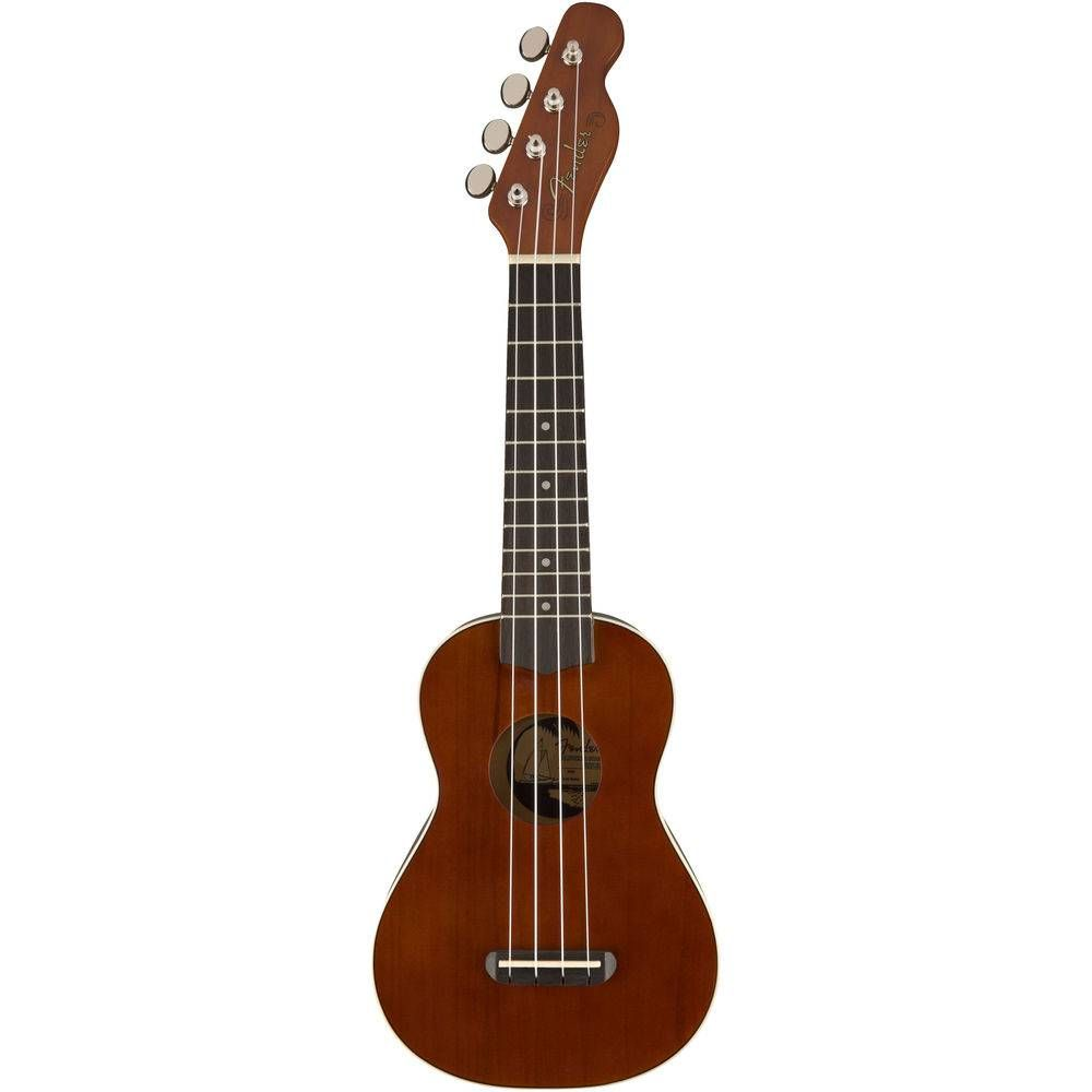 Ukulele fender 0971620 seaside soprano 522 NT