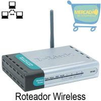 Roteador D-Link DI-524 / 150 BZ 150Mbps 802.11g/2.4GHz Wireless
