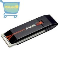 Adaptador Wireless D-Link DWA-125 USB Wireless 802.11N draft 2.0