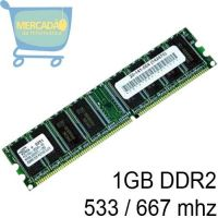 MEMÓRIA 2GB DDR2 800 mhz PC-5300 KINGSTON