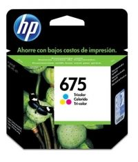 CARTUCHO HP 675 TRICOLOR 5ML