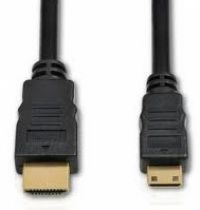 Cabo Mini HDMI x HDMI 1.80 MTS GOLD