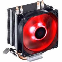 Cooler Universal CPU Led RED Intel Amd Fan 1150 am3 fm