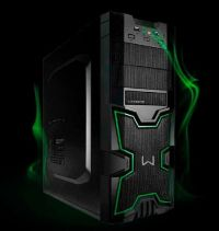 Gabinete Gamer Warrior Multilaser Ga154 S/fonte