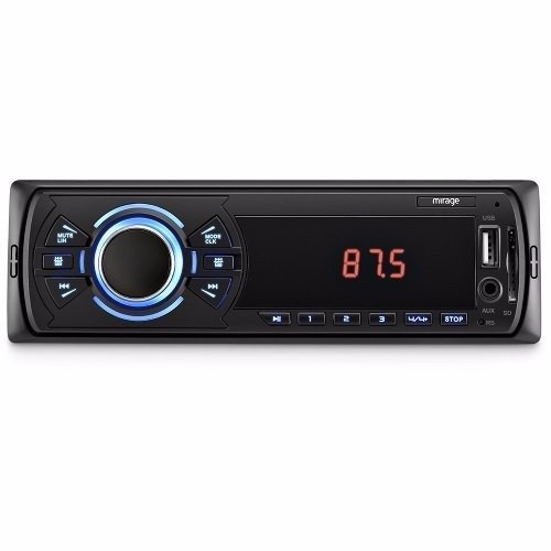Auto Radio Som Automotivo Usb Mp3 Player, Rádio Fm Mirage  - foto principal 1