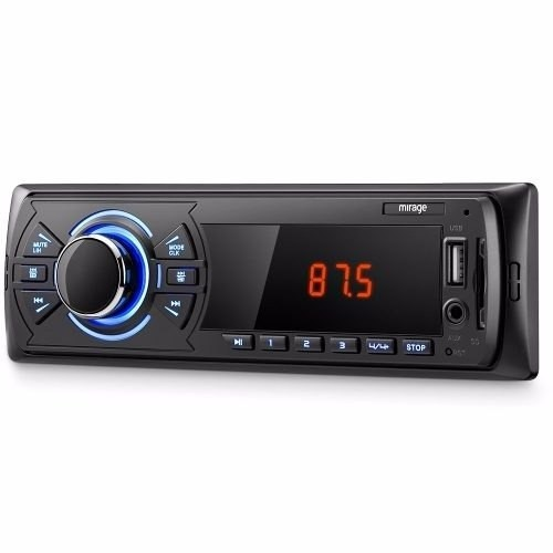 Auto Radio Som Automotivo Usb Mp3 Player, Rádio Fm Mirage  - foto principal 3