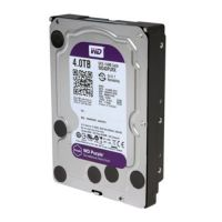 HD 4 TB P/CFTV SATA 6 Gb/s 5400 rpm PURPLE WD40PURZ WESTERN DIGITAL