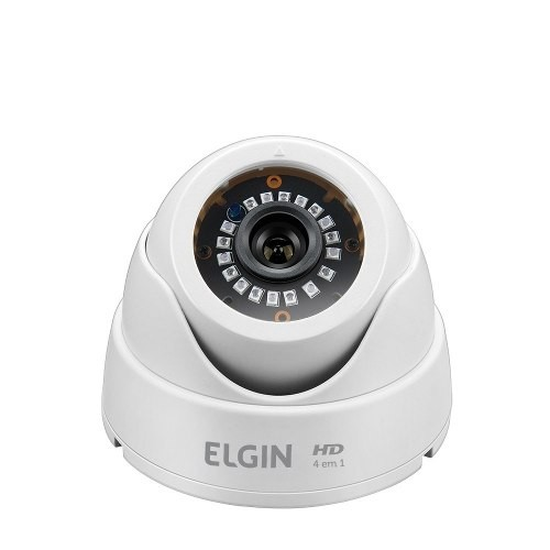 Camera Elgin Dome 4 Em 1 720p 1 Mp 2,8mm 18 Leds Smd Ir 25mt  - foto principal 1