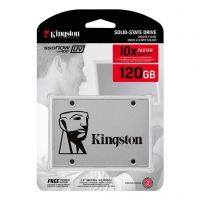 SSD Kingston 2.5´ 120GB UV400 SATA III Leituras: 550MB/s e Gravações: 350MB/s - SUV400S37/120G