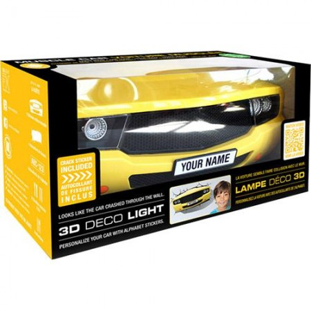 Luminária 3D Light FX Muscle Car - Beek  - foto principal 5