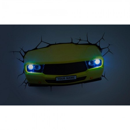 Luminária 3D Light FX Muscle Car - Beek  - foto principal 3
