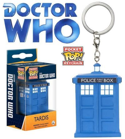 Chaveiro Funko Pocket Pop! Doctor Who - Tardis
