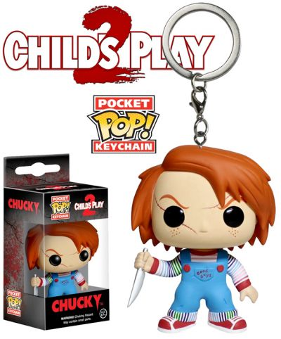 Chaveiro Funko Pocket Pop! Horror - Chucky