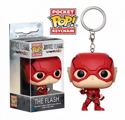 Chaveiro Funko Pop! Dc Justice League - The Flash  - foto 1