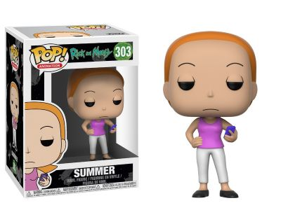 Summer Funko Pop! Animation Rick & Morty
