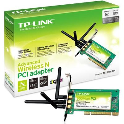 Adaptador Pci Wireless 300 Mbps Tl-wn951n - TP-link  - foto 3