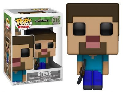 Steve Funko Pop! Games Minecraft