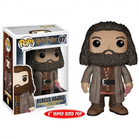 Rubeus Hagrid Funko Pop! Movies Harry Potter - Super Size 6''  - foto principal 1