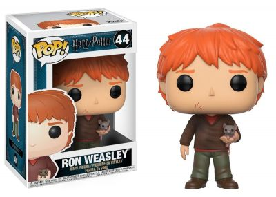Ron Weasley e Scabbers Funko Pop! Movies Harry Potter S4  - foto 1