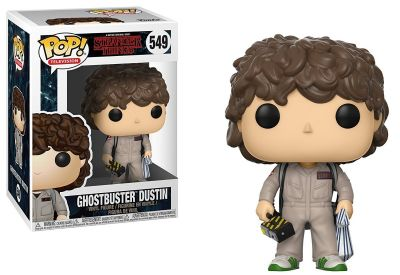 Dustin Ghostbusters Funko Pop! Television Stranger Things