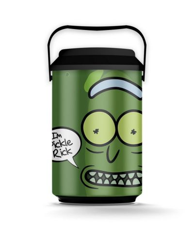 Cooler 10 Latas Pickle RICK AND MORTY Oficial - Beek  - foto 2