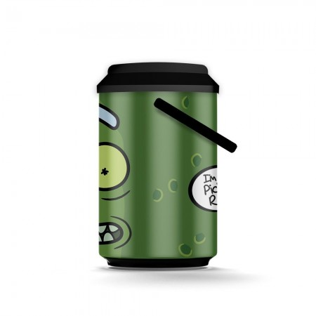 Cooler 10 Latas Pickle RICK AND MORTY Oficial - Beek  - foto principal 2