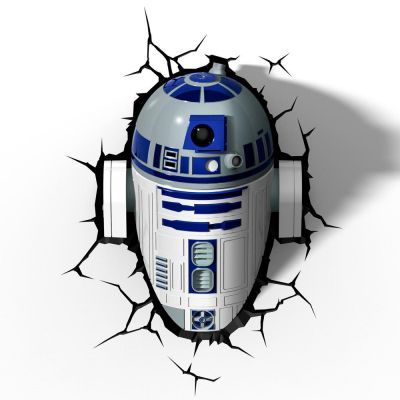 Luminária 3D Light FX Star Wars R2-D2 - Beek