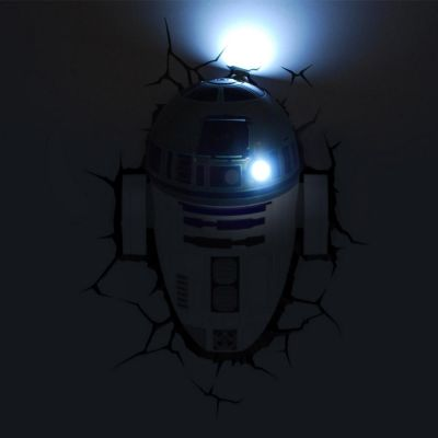 Luminária 3D Light FX Star Wars R2-D2 - Beek  - foto 4