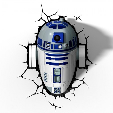 Luminária 3D Light FX Star Wars R2-D2 - Beek  - foto principal 1