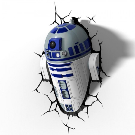 Luminária 3D Light FX Star Wars R2-D2 - Beek  - foto principal 4