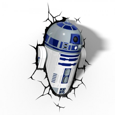 Luminária 3D Light FX Star Wars R2-D2 - Beek  - foto principal 3