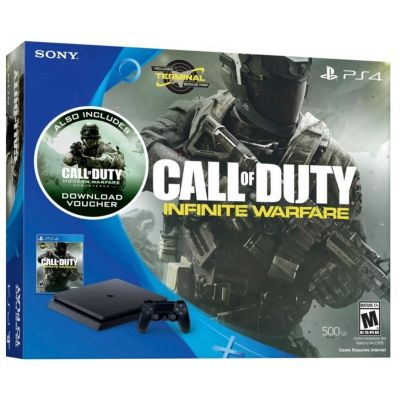 Playstation 4 500gb Com Jogo Call of Duty: Infinite Warfare - Sony