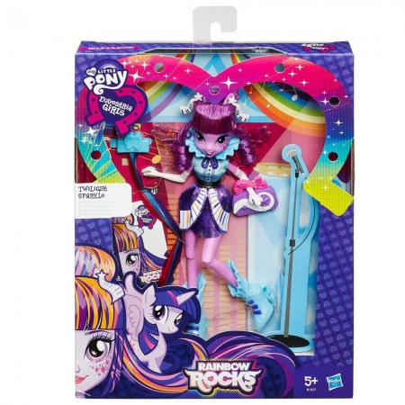 Twilight Sparkle - My Little Pony - Equestria Girls - Rainbow Rocks - Hasbro  - foto principal 2