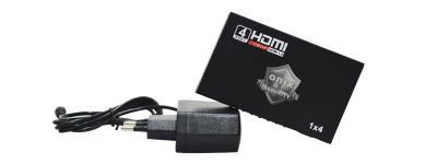 Divisor de Video Hdmi 4x1 Ativo - Onix Security
